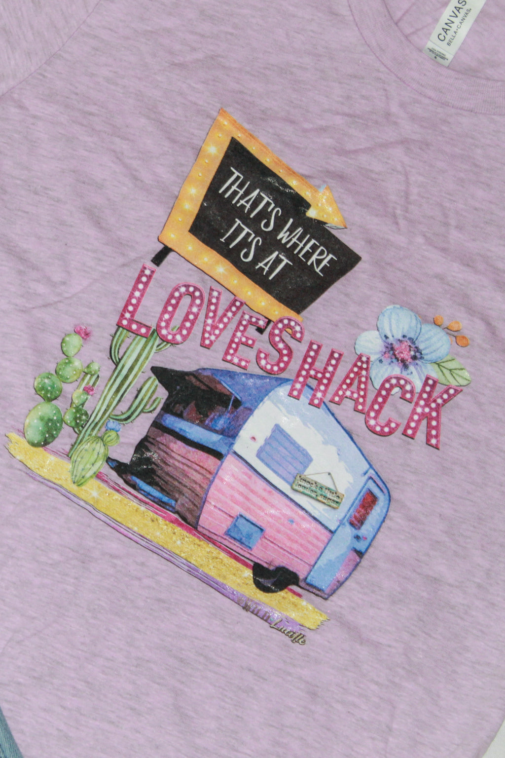 Love Shack Camper Unisex Graphic Tee