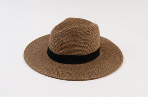 Dark Amaro Straw Hat