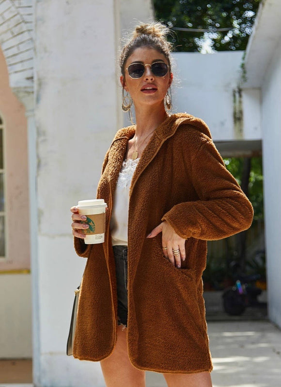 Wool Brown Coat