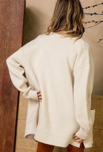 Soft Knit Sweater Coat
