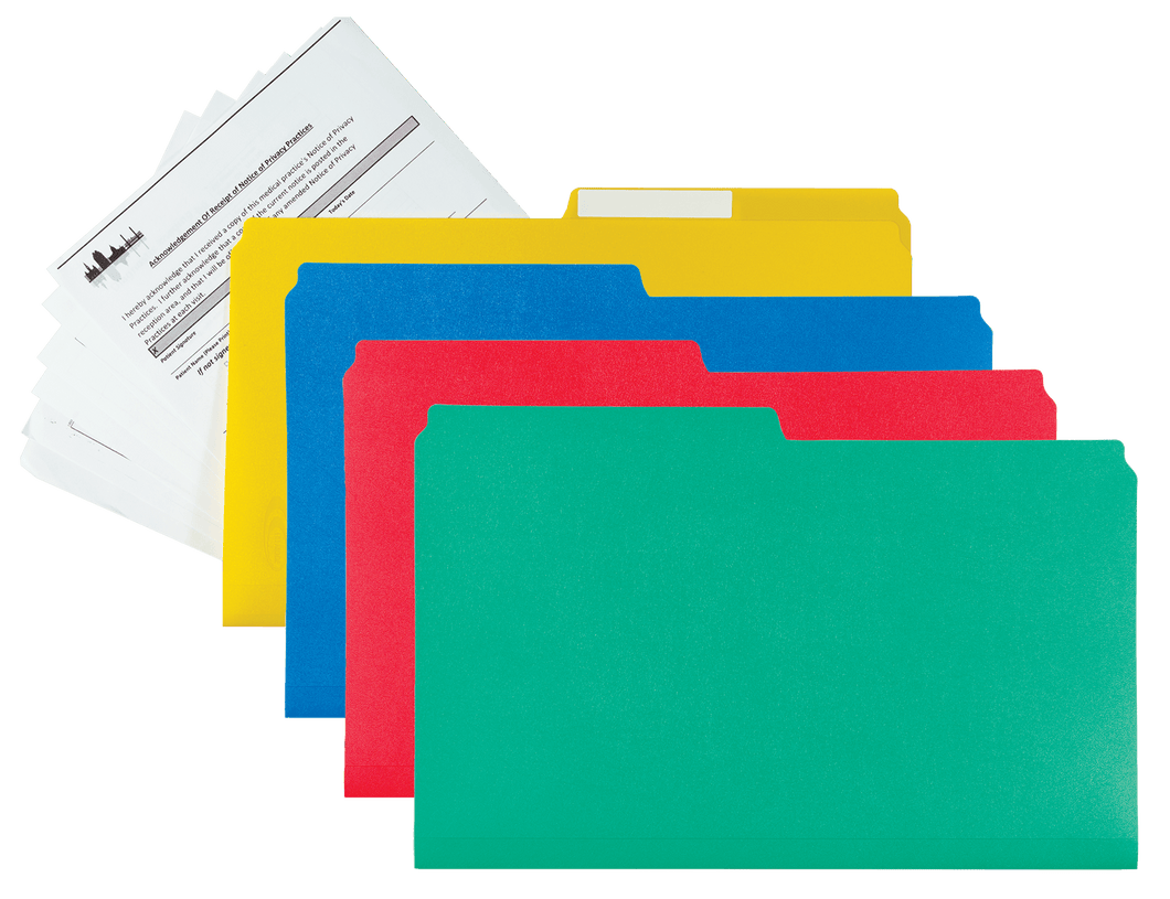 legal size file folders