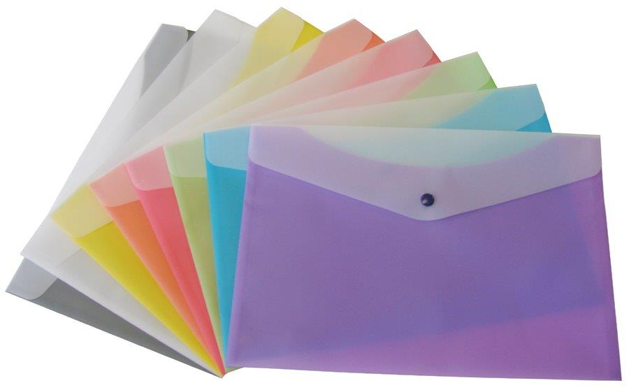 POLY ENVELOPES - Assorted