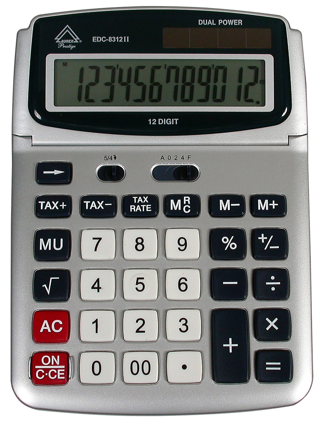 Solar Powered Desktop Calculator