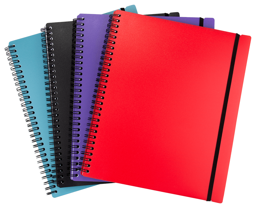 DESIGNER COLOUR NOTEBOOKS