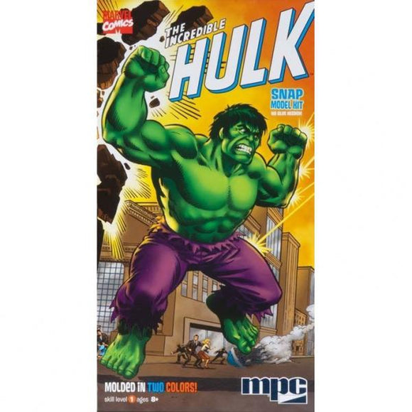Incredible Hulk snap model kit