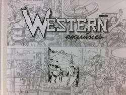 Western -  Esquisses (Version à 30 ex pour F.Zone)