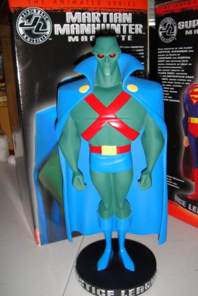 Justice League Animated Series Martian Manhunter maquette