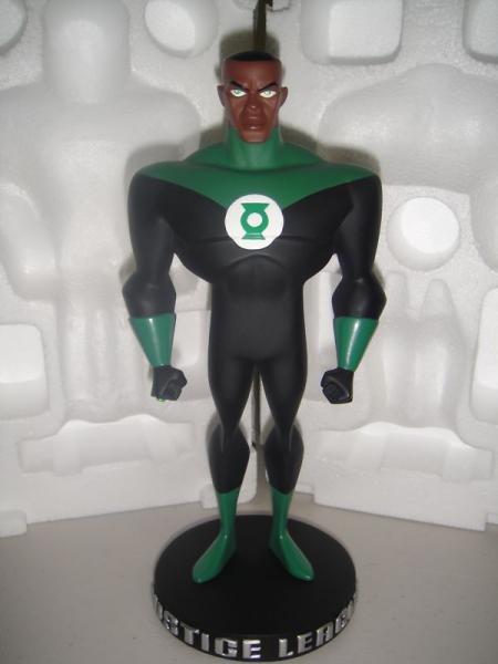Justice League Animated Series Green Lantern maquette