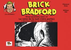 BRICK BRADFORD stips quotidiens T14