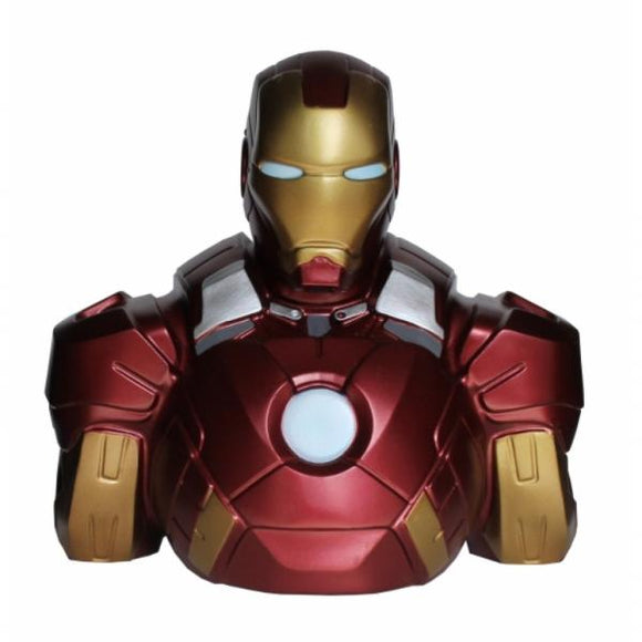 Iron Man Bust Bank