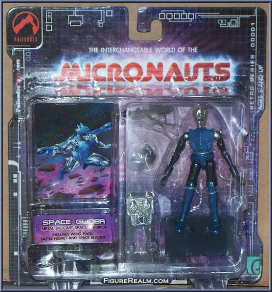 Micronauts Retro Series - Space Glider (blue)
