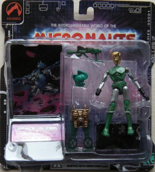 Micronauts Retro Series - Space Glider (green)