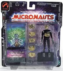 Micronauts Retro Series - Time Traveler (black)