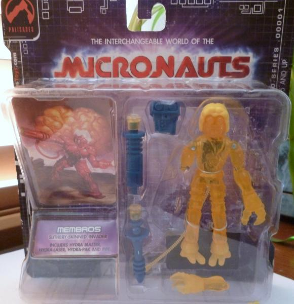 Micronauts Retro Series - Membros (yellow)