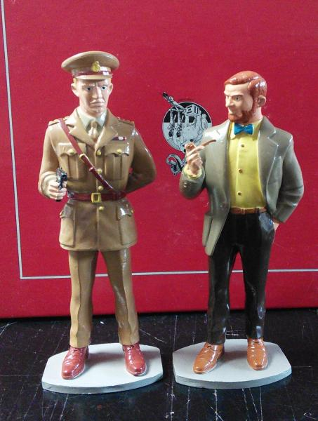 Capitaine Blake & Professeur Mortimer (grand modèle)