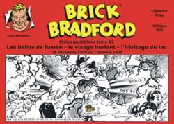 BRICK BRADFORD stips quotidiens T21