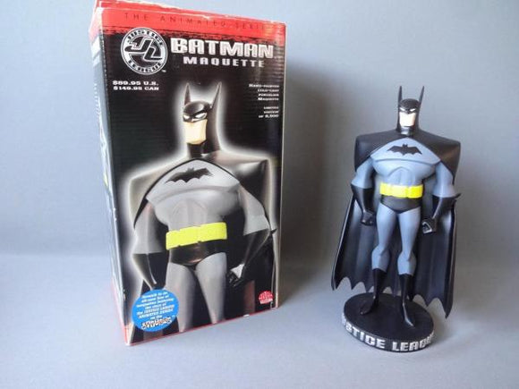 Justice League Animated Series Batman maquette