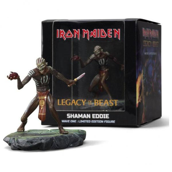 Iron Maiden Legacy of the Beast - Shaman Eddie