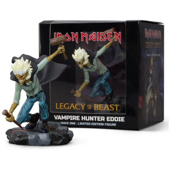 Iron Maiden Legacy of the Beast - Vampire Hunter Eddie