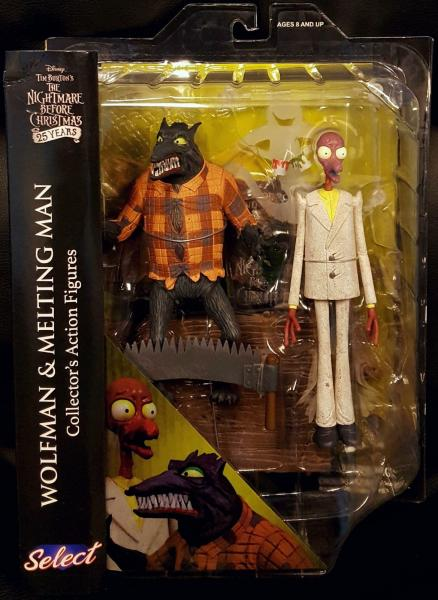 Nightmare Before Christmas 25 Years - Wolfman & Melting Man