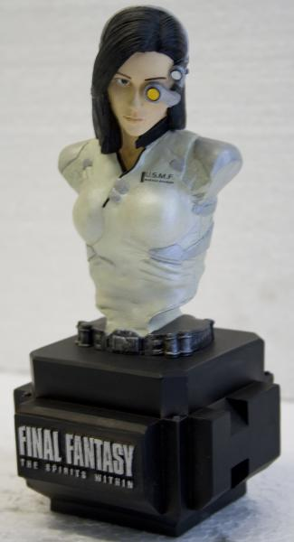 Final Fantasy - Dr. Aki Ross  bust