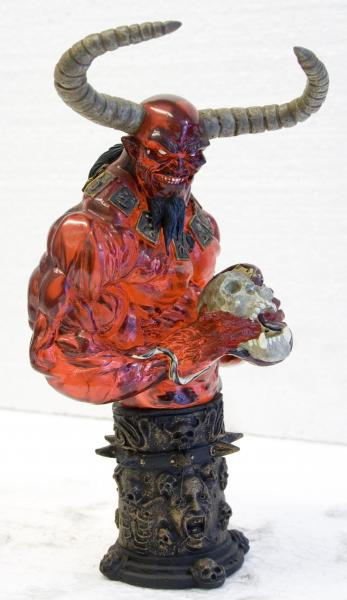 Lucifer  bust - transparent special edition