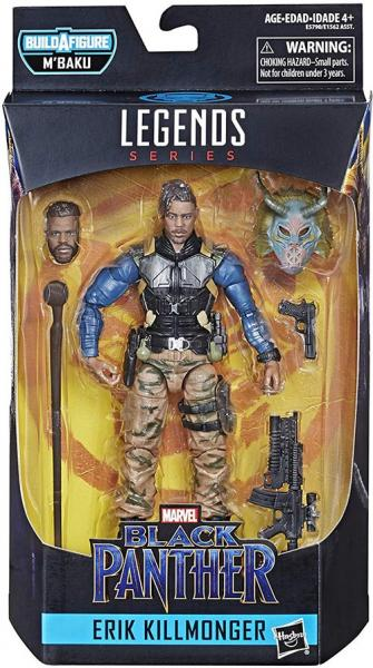 Marvel Legends M'Baku Series - Erik Killmonger