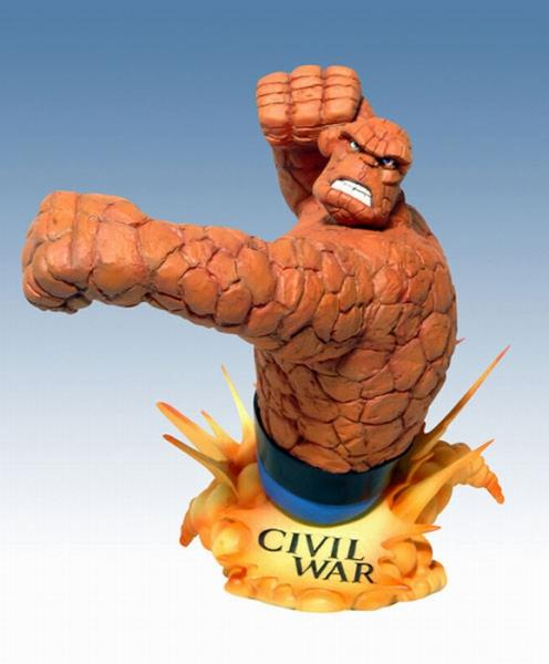 Civil War: The Thing   bust