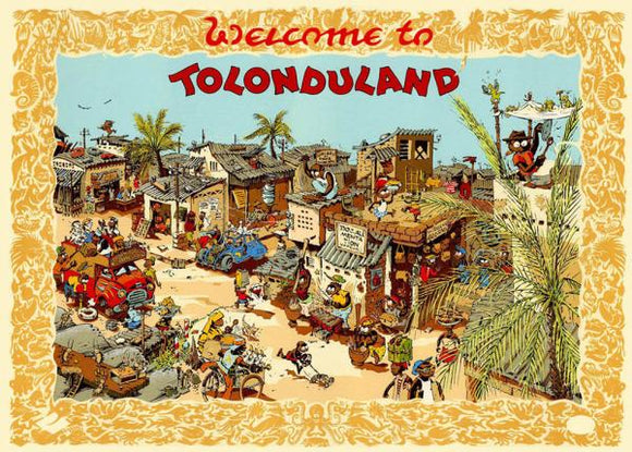 affiche PIC & ZOU Welcome to Tolonduland