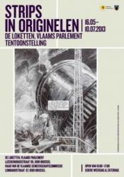 poster SCHUITEN - Strips in originelen