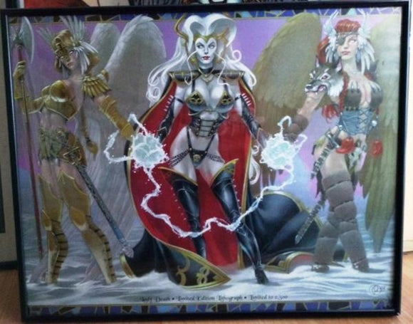 Lady Death & Co limited edition print