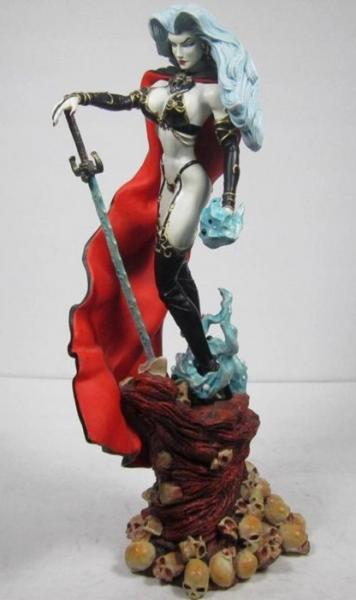 Lady Death Dark Millennium statue