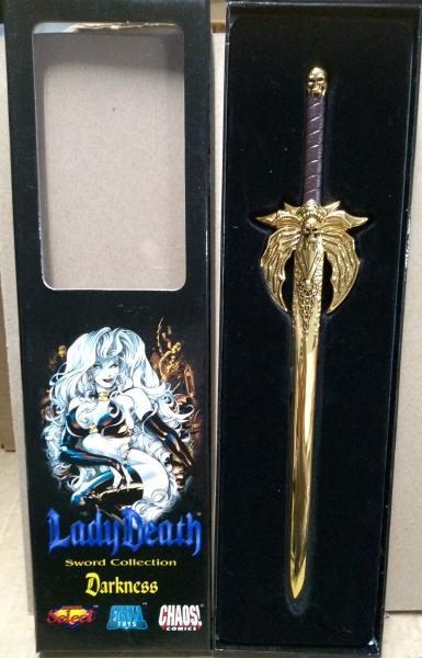 Lady Death Sword Collection - Darkness