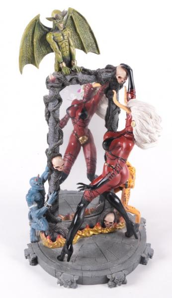 Lady Demon Dark Millennium statue