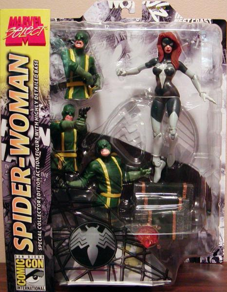 Marvel Select - Spider-Woman (black costume)