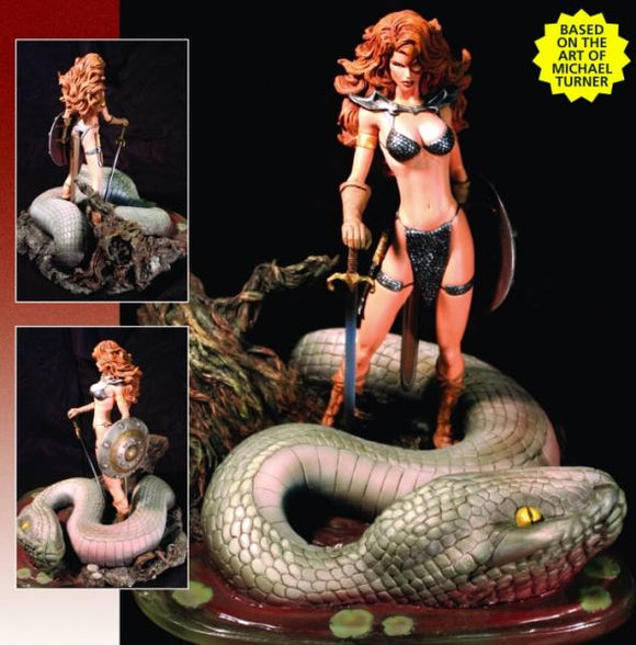 Red Sonja (Michael Turner) re-sized statue