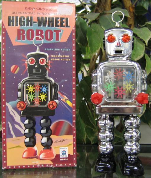 High-Wheel Robot