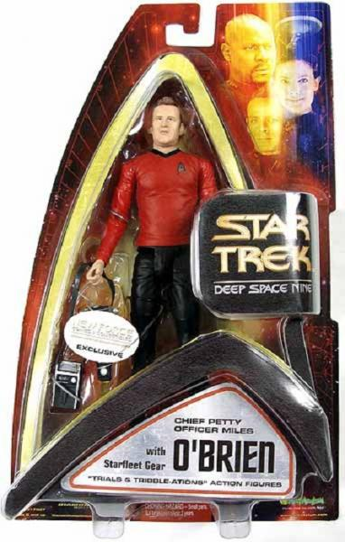 DS9 Trials & Tribble-ations - Chief Petty Officer Miles O'Brien