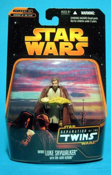 SW Separation of the Twins: Luke Skywalker with Obi-Wan Kenobi - précommande