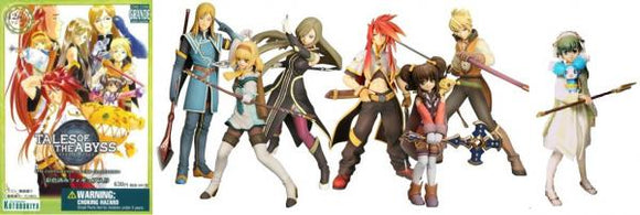 Tales of the Abyss One Coin Figure Collection (set de 7)