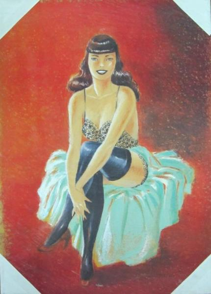 Pin-up assise
