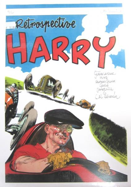 affiche SEVERIN Retrospective Harry