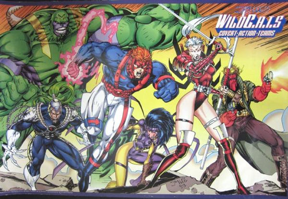 affiche JIM LEE Wildcats