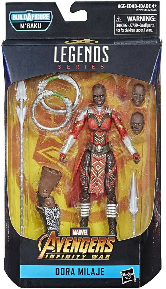 Marvel Legends M'Baku Series - Dora Milaje