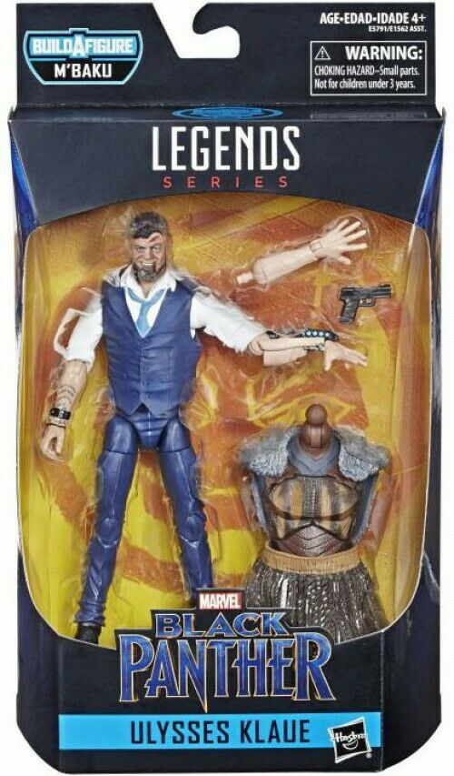 Marvel Legends M'Baku Series - Ulysses Klaue