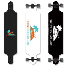 Load image into Gallery viewer, Longboard Cruiser-Black