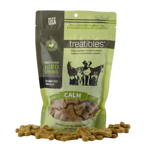 Calm (Turkey Flavor) Hard Chews – Dog