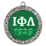 Iota Stone Coin Necklace