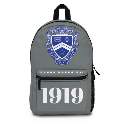 ΚΚΨ Charcoal Grey Crest Backpack