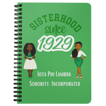 Sisterhood Since 1929 - Nia & Giselle - Spiral Bound Notebook